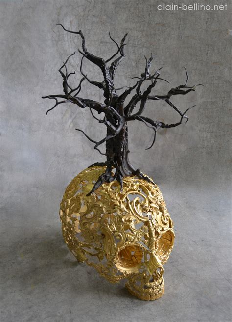 Amazing Metal Sculptures Made From Reclaimed Bronze Ornaments by Amazing Metal Sculptures Made From Reclaimed Bronze Ornaments