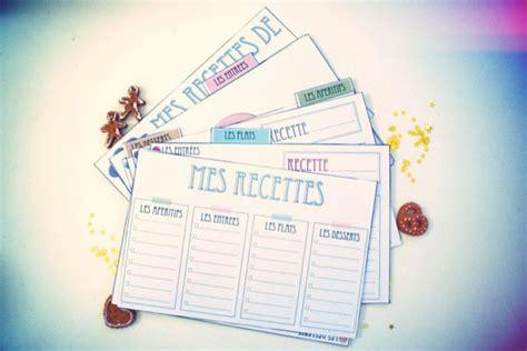 exemple de recette de cuisine des cartes de recette de cuisine vie de miettes