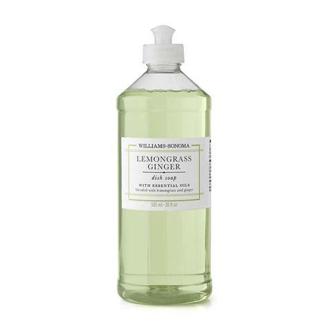 williams sonoma lemongrass ginger dish soap oz