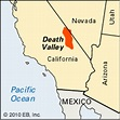Death Valley: location -- Kids Encyclopedia | Children's ...