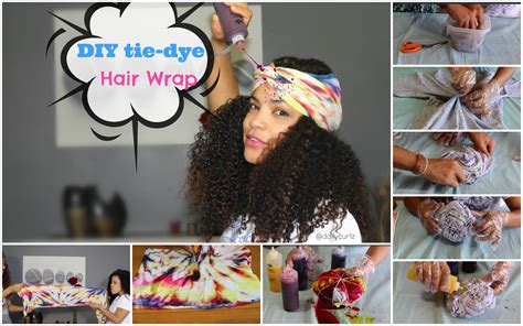 Transform Your Old Shirt Into A Hair Wrap