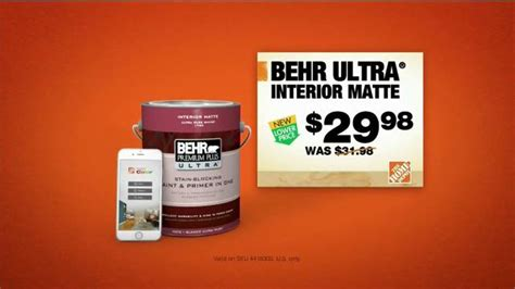 the home depot project color app tv spot test