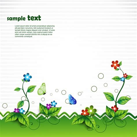 Select path of you image (click on it). Free Vector Nature Scene With Space For Text Vector ...