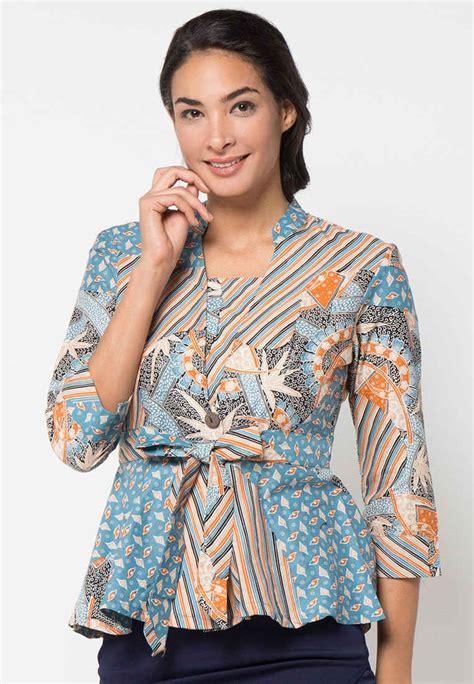 Model Blus Wanita Dewasa Gemuk 14 Model Baju Batik Wanita Gemuk Agar Terlihat Langsing