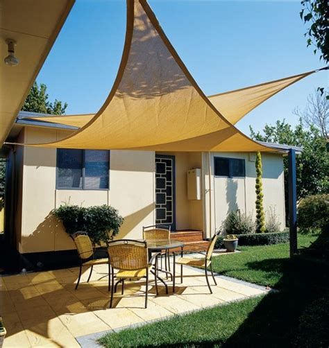 buy coolaroo 5m triangle shade sail delivery by waitrose
