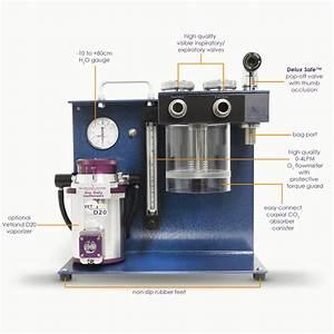 Vta-1100 Veterinary Anesthesia Machine