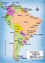Political Map of South America - Free Printable Maps