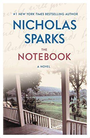 notebook  notebook   nicholas sparks