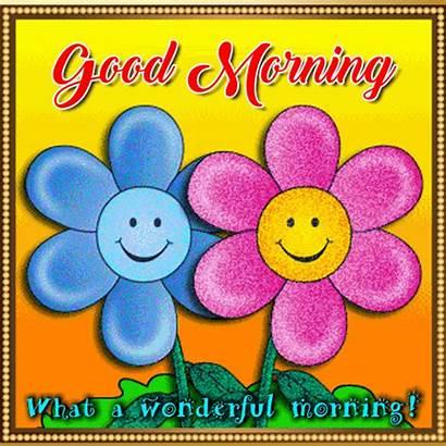 Morning Wonderful Ecard Bright Greetings Cards Card