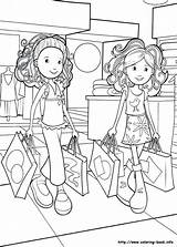 Grocery Store Drawing Coloring Pages Shopping Getdrawings sketch template