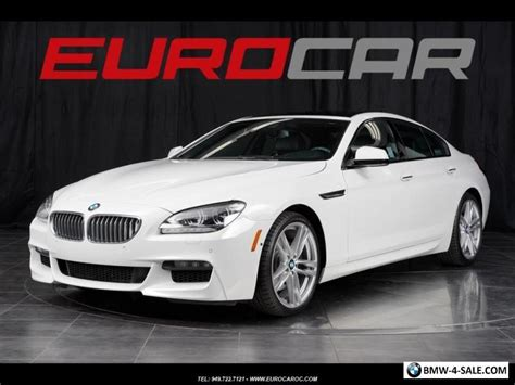 Bmw 650i For Sale by 2015 Bmw 6 Series 650i Gran Coupe For Sale In United States