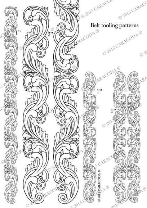 leathercraft tooling pattern belt