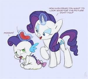 The gallery for --> Spike And Rarity Having A Baby