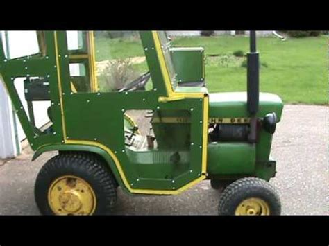 tractor cab how to save money and do it yourself