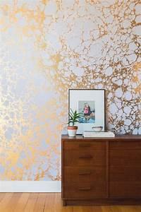 Wandfarbe Gold Metallic : wandfarbe metallic effekt gr n haus design ideen ~ Frokenaadalensverden.com Haus und Dekorationen