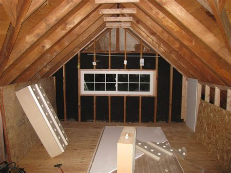 Small Attic Remodel Before And After €� Attic Ideas