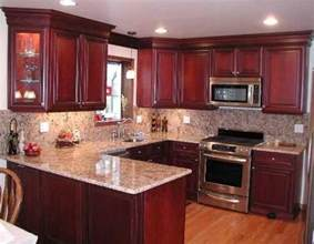 best 25 cherry kitchen cabinets ideas on cherry kitchen cherry wood cabinets and