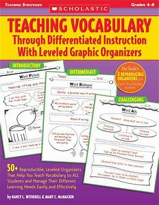 Teaching Vocabulary Through Differentiated Instruction