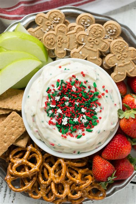 christmas cookie dough dip dinner at the zoo