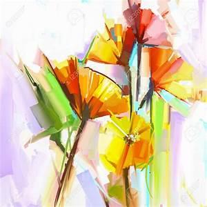 pinturas al oleo de flores abstractas Buscar con Google Paint proyect Pinterest Flores