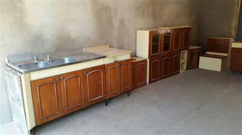 muebles de cocina metal  madera alidj id