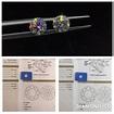 Diamond ICQ 鑽石專門店 - 🎯GIA 1.00卡 D色 VS1 3EX None 🌟天生一對耳環💎 | Facebook