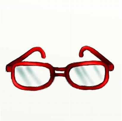 Glasses Pair Clipart Draw Eye Cartoon Drawing
