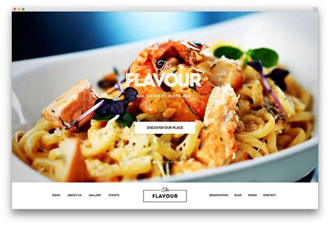 cuisine site 25 awesome food themes to recipes 2018