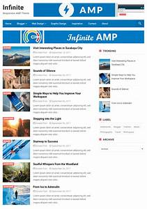 25 Best Free AMP Blogger Templates 2019 To Speedup Your