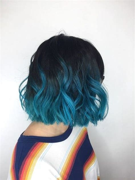 Popular Short Blue Hair Ideas In 2019 Short Blue Hair
