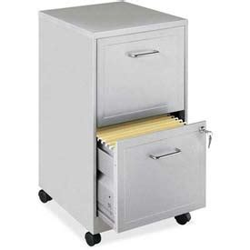 lorell 16872 2 drawer mobile file cabinet 18 inch file cabinets vertical lorell 18 quot deep 2 drawer
