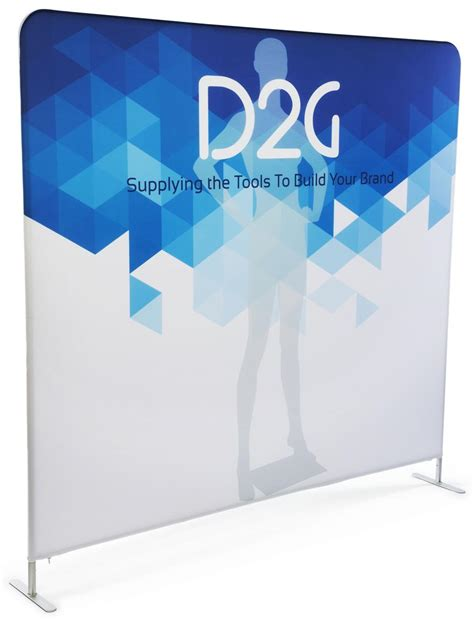 Backdrop For Display by Single Sided 8 Wide Banner Backdrop Color Printing