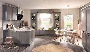 Graue Küche Welche Wandfarbe : graue k che die 6 sch nsten ideen und bilder k chenfinder magazin ~ Markanthonyermac.com Haus und Dekorationen