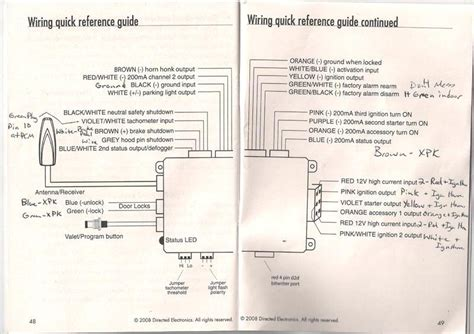 avital 3100 1 way wiring diagram schematic symbols diagram