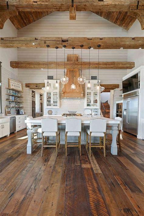 stunning interior design ideas with farmhouse style 11