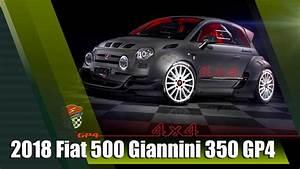 Fiat 500 4x4 : all new 2018 fiat 500 giannini 350 gp4 4x4 350hp youtube ~ Medecine-chirurgie-esthetiques.com Avis de Voitures
