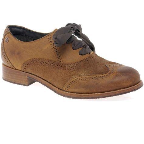 sebago claremont brogue womens lace  shoes women  charles clinkard uk