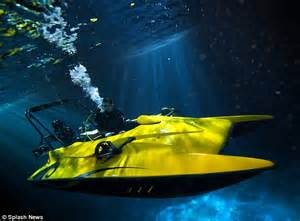 Trimaran James Bond by Dive Another Day James Bond Style Submarine Boat Goes On