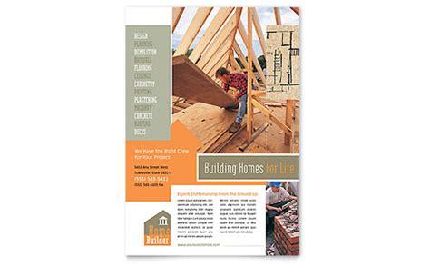construction flyers templates designs