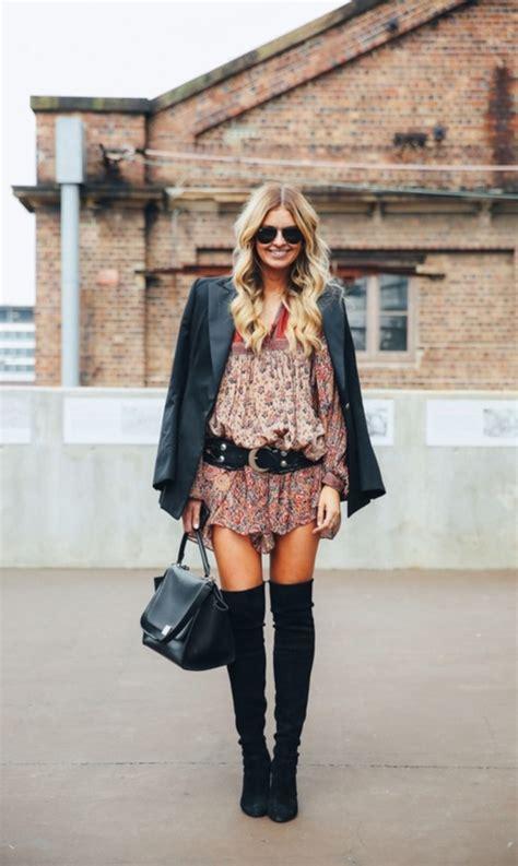 cool boho winter fashion outfits