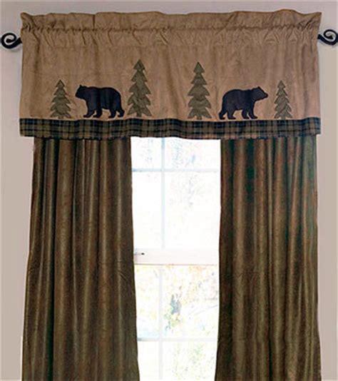 valance window treatments shop everything log homes