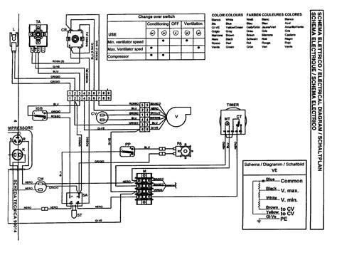 wiring diagram of split type aircon webtor me