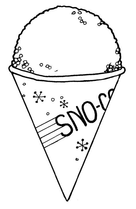 Free snow cone clip art