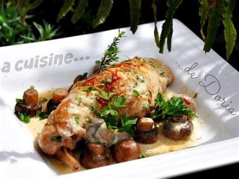 recettes de cuisses de lapin de la cuisine de doria