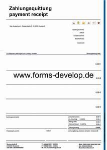 Ordnungsgemäße Rechnung Muster : quittung beleg brutto pdf formular a4h standard aktionsware ~ Themetempest.com Abrechnung