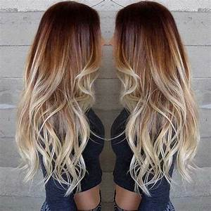 Faire Un Balayage : balayage blond sur brune adopter une des couleurs les plus tendance pour cette saison ~ Melissatoandfro.com Idées de Décoration