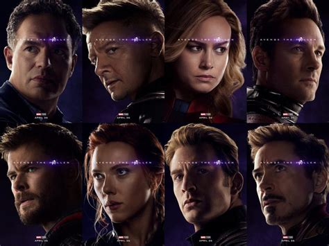 These New Avengers Endgame Character Posters Reveal One