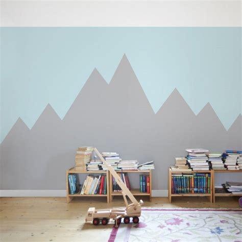 Kinderzimmer Junge Wandgestaltung by Kindertapete Vliestapete Berg Kinderzimmer