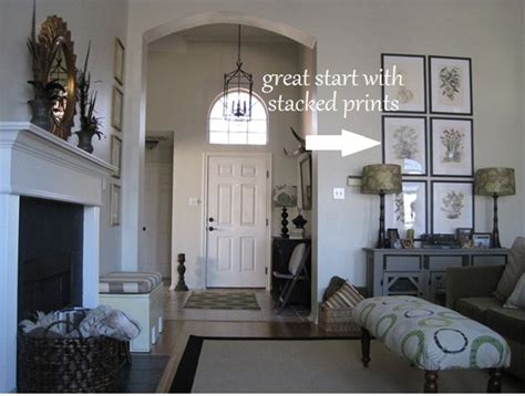how to decorate walls with vaulted ceilings decorate large wall vaulted ceiling best ideas about decorating tall walls on pinterest tall