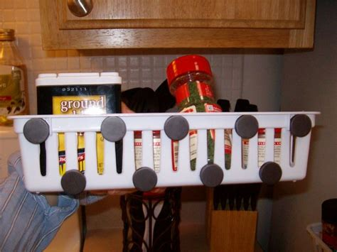 Refrigerator Spice Rack by Magnetic Spice Rack For Refrigerator